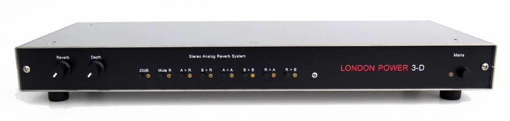 London Power 3-D Reverb Unit