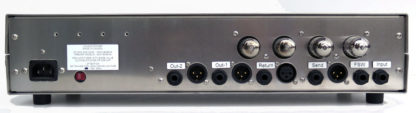 London Power's All Tube Bass Preamp - rear panel