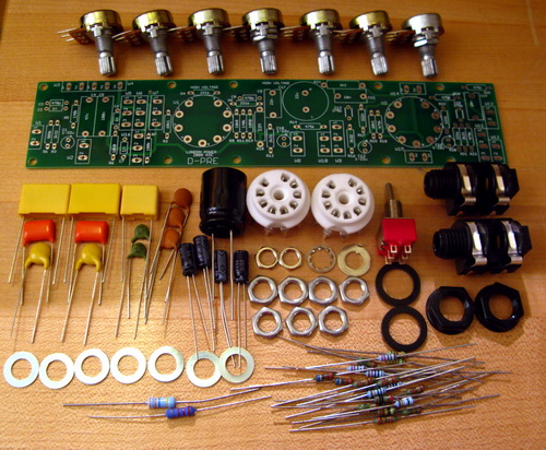 London Power D-PRE preamp kits parts