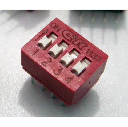 Four DIP-Switch Unit - avail. from London Power