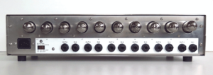 London Power's ICON 6-Channel All-Tube Preamp rear panel