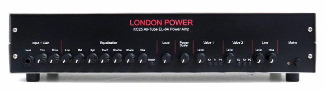 London Power KC25 All-Tube EL-84 Power Amp