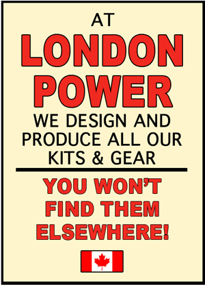 london power designs and produces our own kits and gear