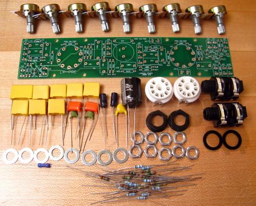London Power LP-PRE preamp kits parts