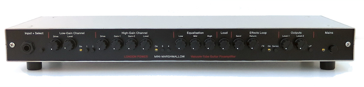 MINI-MARSHMALLOW Dumble-style Tube Guitar Preamplifier from London Power