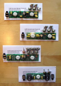 London Power Preamp Kits