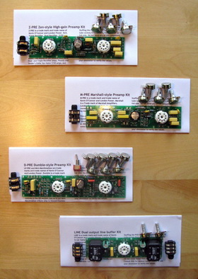 Selecting a London Power Preamp Kit | London Power