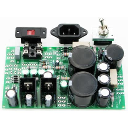 London Power's PSU Super-Quiet Power Supply Kit for Tube Amplifier