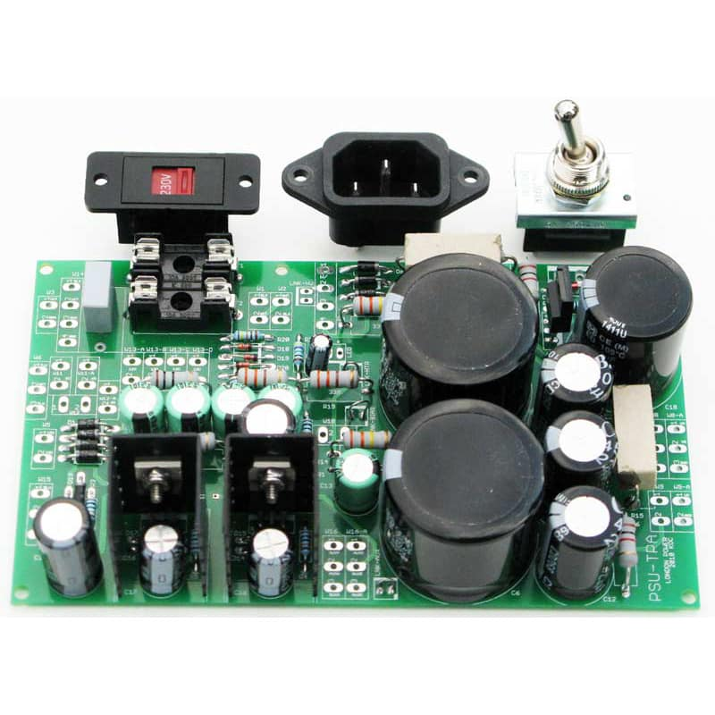 DIY PCB Power supply board for tube amps with bias supply