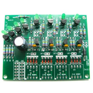 Q-RLY Four-Way Relay Controller - Kit by London Power