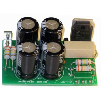 Quiet Supply for High-Voltage Tube Amps Kit from London Power