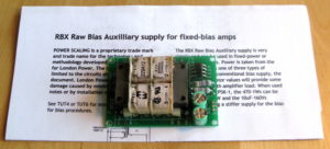 London Power Raw Bias Auxiliary Supply Kit