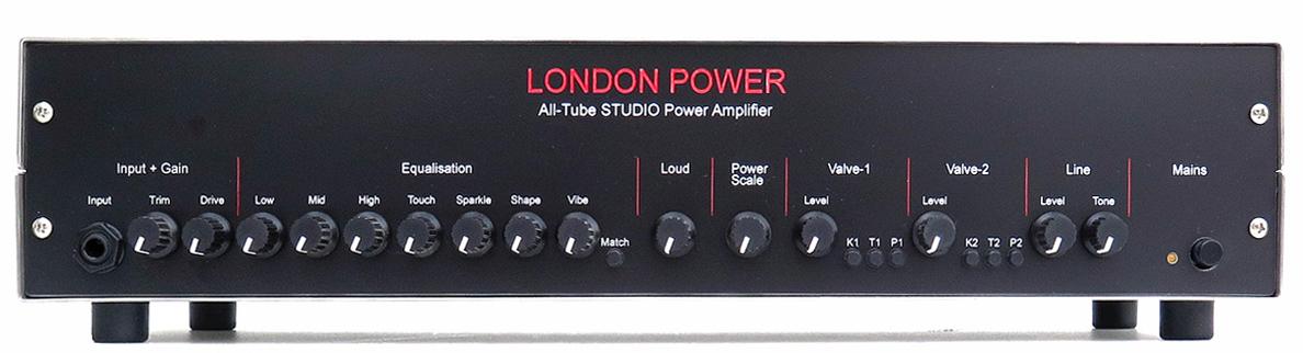 London Power All-Tube STUDIO Power Amplifier