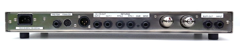 London Power Super Standard Tube Guitar Preamplifier - rear