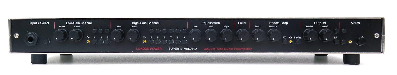 London Power's SUPER STANDARD Tube Guitar Preamplifier